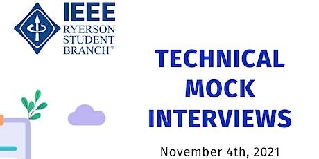 Technical Mock Interviews tickets