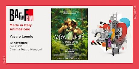"""""YAYA E LENNIE - THE WALKNG LIBERTY"""" di Alessandro Rak biglietti"