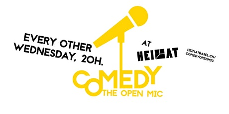 The Comedy Open Mic - 24th of November Tickets