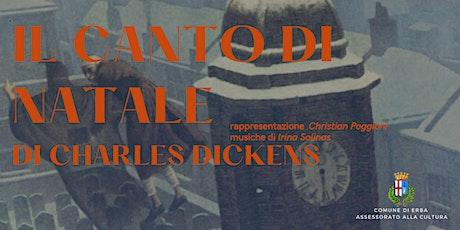IL CANTO DI NATALE di Charles Dickens biglietti