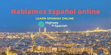 Spanish Conversation group - practice your Spanish online! tickets