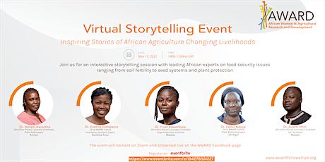 AWARD  Virtual Storytelling Event tickets