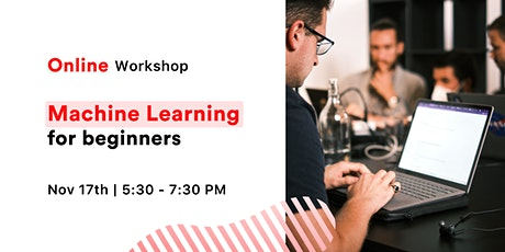 [FREE Workshop] Intro to Machine Learning tickets