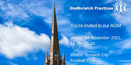 OneNorwich Practices Annual General Meeting tickets