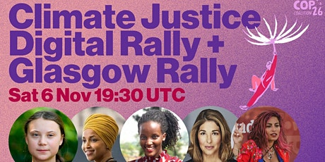 Digital Rally for Climate Justice tickets
