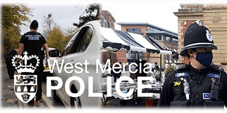 West Mercia Police Student Police Officer - Online Discovery session tickets