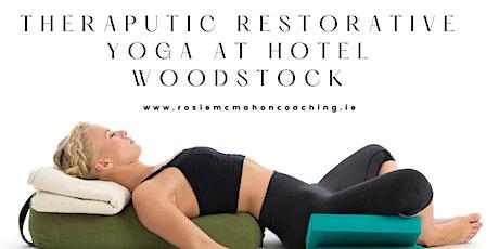 Therapeutic Restorative Yoga Evening at Hotel Woodstock tickets