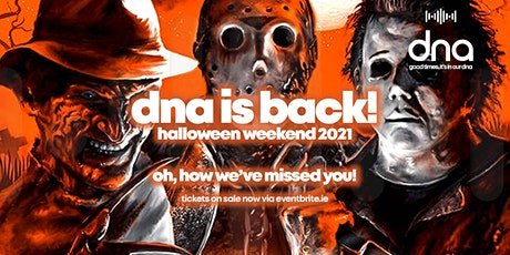 Halloween Night at dna Galway tickets