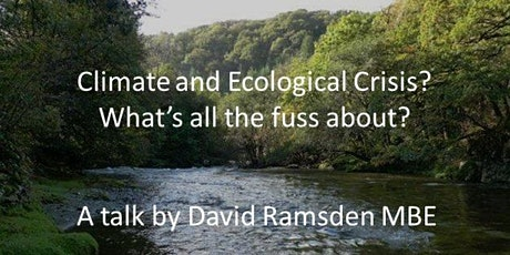 Crediton Cop26  pt1-Climate & Ecological Crisis? What's all the fuss about? tickets