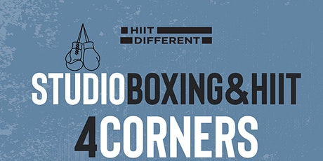 HIIT DIFFERENT STUDIO SESSION: 4CORNERS tickets