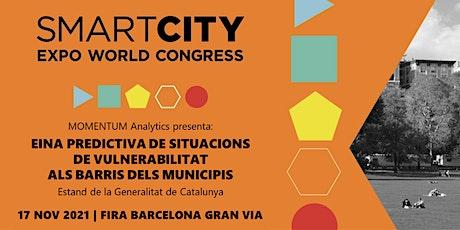 Smart City Expo. EINA PREDICTIVA DE SITUACIONS DE VULNERABILITAT entradas