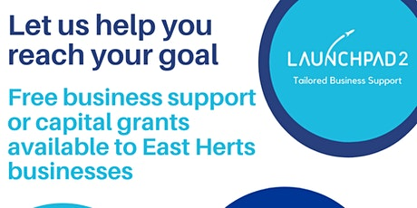 ERDF Launchpad 2: Grants and Support for East Herts Social Enterprises tickets