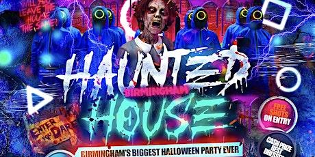 Haunted House - Birmingham's Wildest Halloween Party tickets
