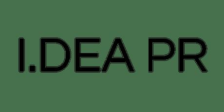 I.DEA PR SAMPLE SALE tickets