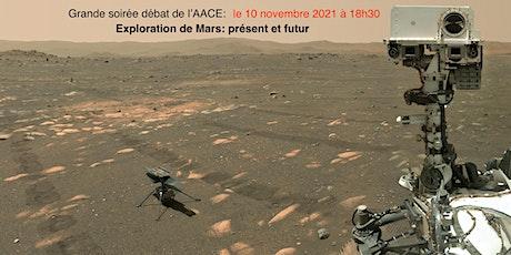 Grande Soirée-Débat « Exploration Spatiale de Mars : Présent et Futur » billets