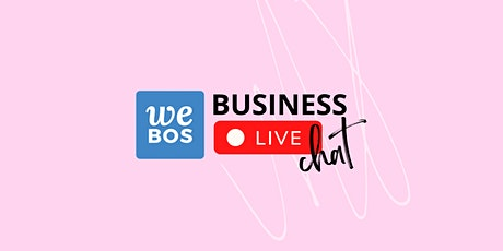 WE BOS WEEK Business Live Chat: Retail Industry tickets