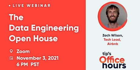 The Data Engineering Open House w/ Zach Wilson tickets