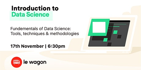- Live Workshop - An introduction to Data Science! tickets