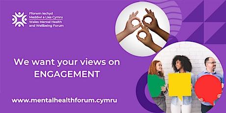 WMHWF Consultation Focus Group: Engagement tickets