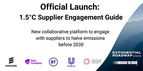 Official Launch: 1.5°C Supplier Engagement Guide tickets