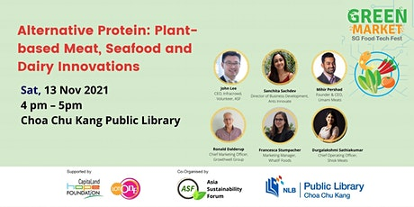 [Green Market] Alternative Protein: Plant Based Meat, Seafood and Dairy Inn tickets