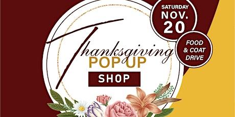 Thanksgiving Pop Up Shop tickets