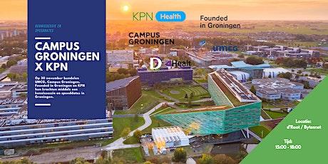Campus Groningen x KPN tickets