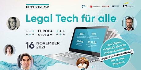 LEGAL TECH KONFERENZ WIEN Tickets