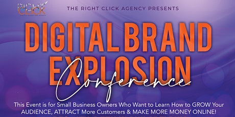 Digital Brand Explosion Conference tickets