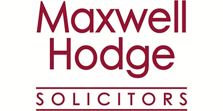 """Maxwell Hodge Solicitors """"SIMPLY ZOOM TOGETHER"""" online business networking tickets"""