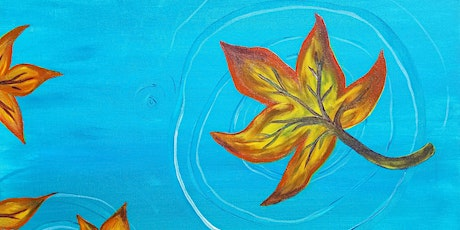 Virtual Painting for whole family - Falling Leaves tickets