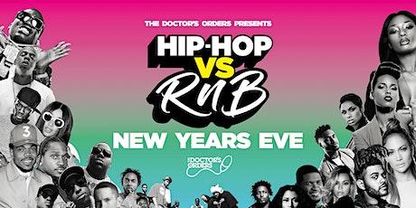 Hip-Hop vs RnB - NYE tickets