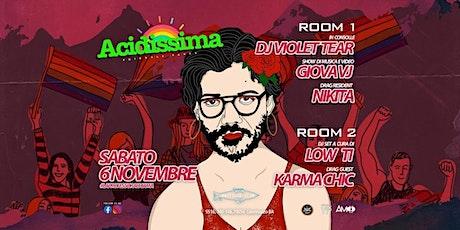 ACIDISSIMA - Friendly Party - EXTRA DATE biglietti