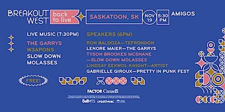 Back to Live - Saskatoon tickets