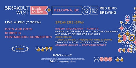 Back to Live - Kelowna tickets