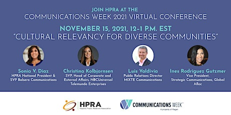 Cultural Relevancy for Diverse Communities tickets