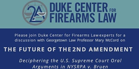 The Future of the Second Amendment tickets