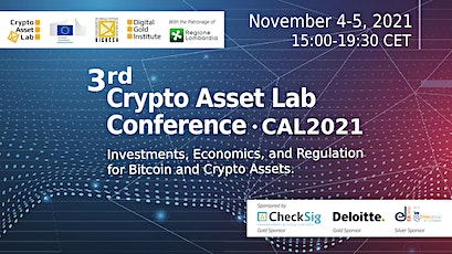 The 3rd Crypto Asset Lab Conference tickets