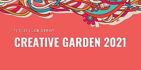 Creative Garden 2021 tickets