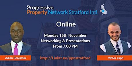 Progressive Property Network Stratford Intl - Online tickets