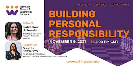 Building Personal Responsibility Webinar tickets