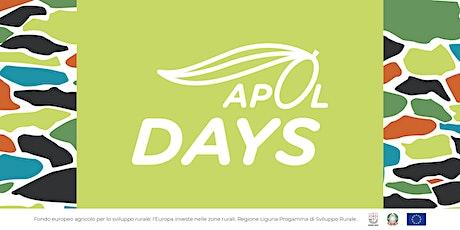 APOL Days. Appuntamento con i giornalisti presso Sala Panel Frantoio Lucchi biglietti