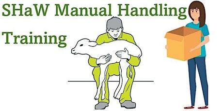 SHaW Manual Handling Training tickets