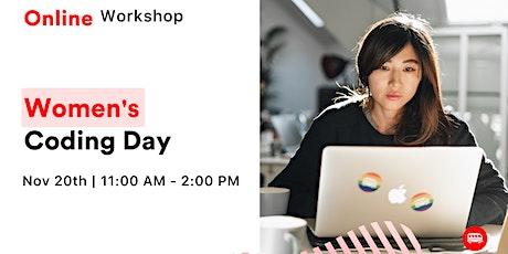 Women's Coding Day - Free Online Workshop tickets