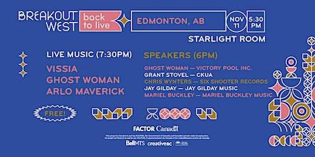 Back to Live - Edmonton tickets