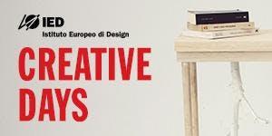 CREATIVE DAYS - PRODUCT DESIGN | IED TORINO | 19...