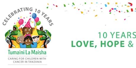 TUMAINI LA MAISHA 10 YEARS DONOR'S CELEBRATION tickets