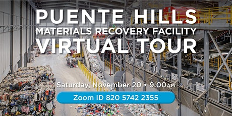 Virtual Tour of the Puente Hills Materials Recovery Facility tickets
