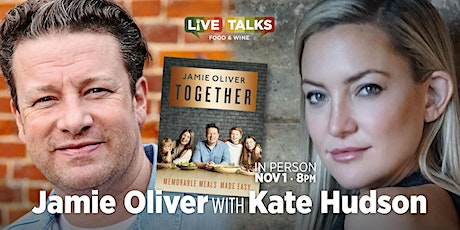 Jamie Oliver with Kate Hudson tickets