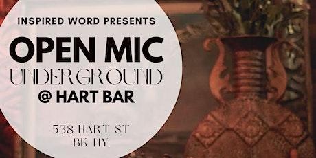 IW Presents: Open Mic Underground at Hart Bar tickets